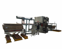 auto loading machine for sander/plywood loading machine with stacker