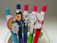 pen with shaped clip Novelty fruit PEN creative /different kinds of pen clip