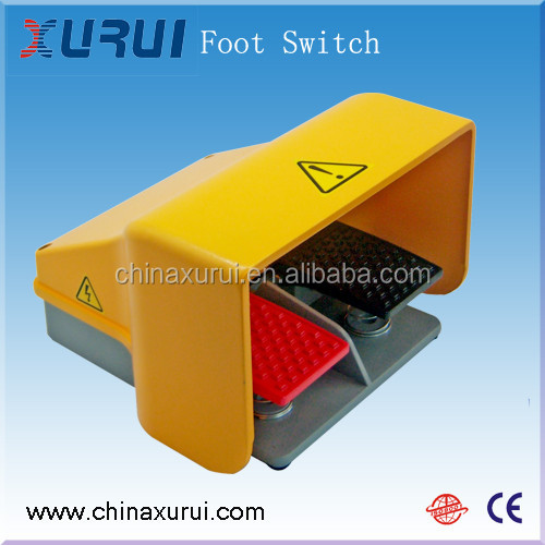 waterproof electrical foot switch / medical double pedal foot switch / 2 step foot switch push button