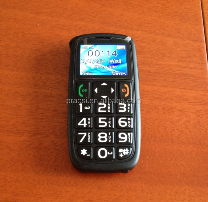 large fonts senior cell phone non camera with gsm/quadband