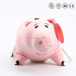 Squeaky pig toy,stuffed big pig animal plush toys