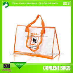 Trendy tote bag with multiple pockets