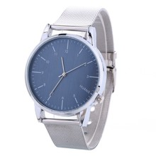 Wholesale High Quality Geneva Silver Mesh Band Watch women Fashion Watches Ladies Casual Dress Wristwatch MW120