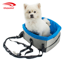 New Style Custom Comfortable Warm Fleece Padded Pet Dog Booster Car Seat For Pet Carrier