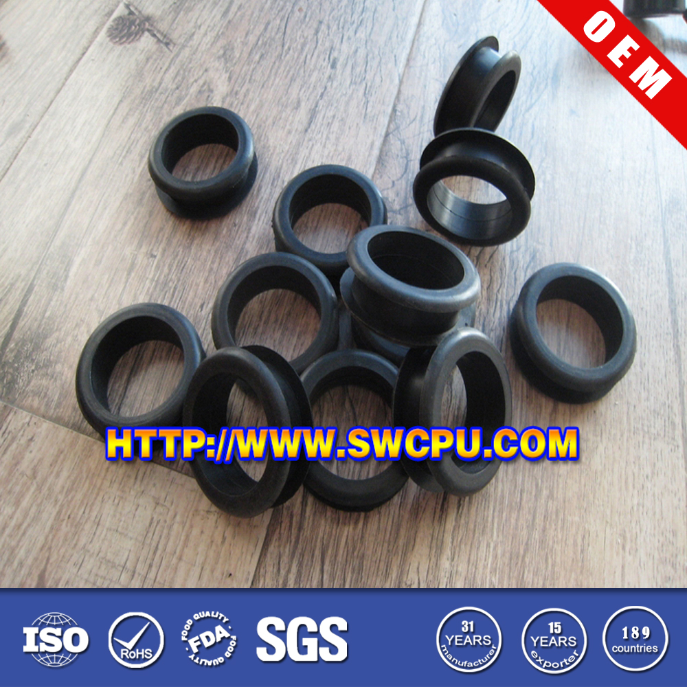 Office furniture fittings plastic cable grommets for computer desk