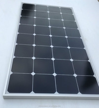 Sunpower acceptable price 100watt flexiable sunpower solar panel
