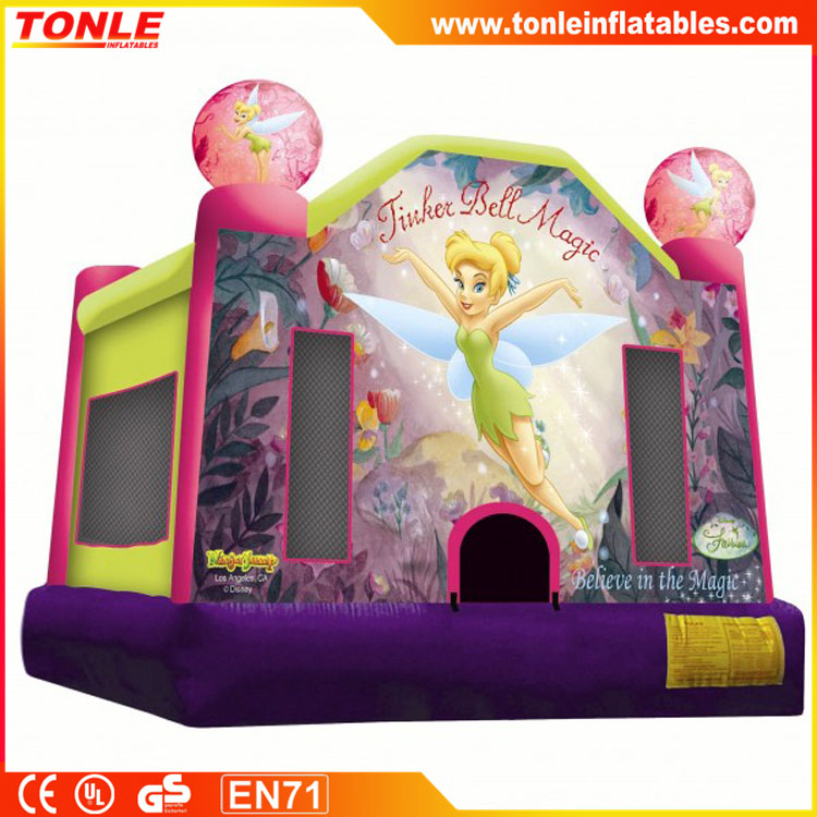 Inflatable Tinker Bell Bounce House, TinkerBell boucy castle
