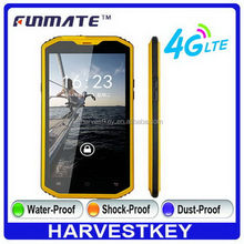 Excellent quality Crazy Selling A8-4G 5.5inch 8M Camera waterproof rugged elder hand phone