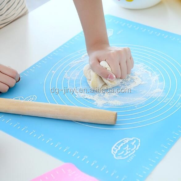 heat-resistant silicon baking mat kitchen silicone mat for kneading dough
