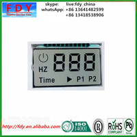 TN lcd display modules cog lcd screen 1:1 for function machine
