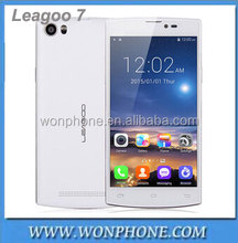 New Original Leagoo Lead 7 Mobile Phone 5.0 inch IPS Screen Android 4.4 MTK6582 Quad Core 1gb RAM 8GB ROM White Black