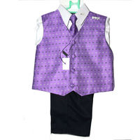 boys dress shirt pant vest