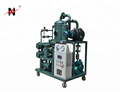factory supply double stage vacuum transformer oil purifier