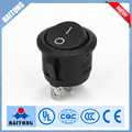 RS-13 momentary waterproof round rocker switch 3pin on sale