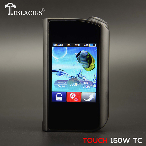 The newest products Tesla touch 150W TC box mod in hot selling