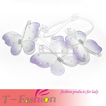 Fairly Butterfly-designed TPU Transparent Shoulder Strap for bra