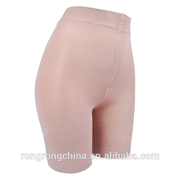 Slimming newest style lady shorts skin high waist ladies tights shorts