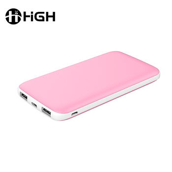 High quality rohs smart mobile charge power bank 8000mah 10000mah