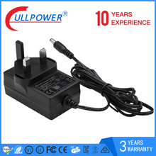 Shenzhen factory 12v 1.5a nvr uk power supply rj45 adapter with power multi power supply