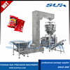 Multi Weigher Scales Puffy Chocolate Nuts Vertical Packing Machine