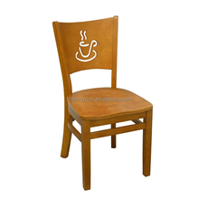 Australia Popular Solid Wood Chair Cafe Furniture