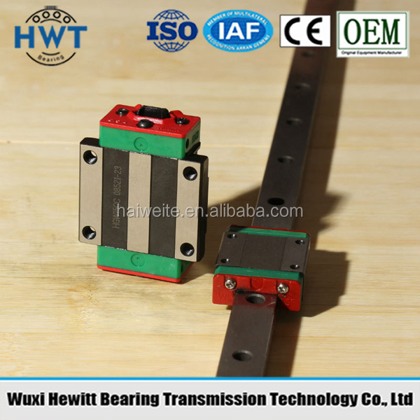 HIWIN HGH,HGW,EGH,EGW,EGN,MGW,HGR,EGR,HGL Series Linear Guide and bearing in stock Hwt