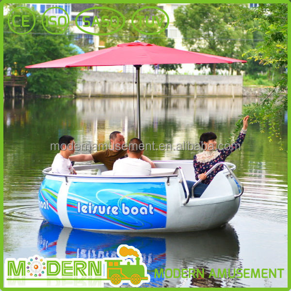 BBQ Donut Electric Boat for entertainment /BBQ Leisure Boat/BBQ Leisure Electric Motor Boat