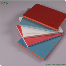 12mm PVC co-extrusion foam board laminated foam sheet for furniture recycled free formaldehyde pvc sheet