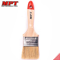 MPT 1/1.5/2/2.5/3/3.5/4inch MHI04001 Wooden Handle Pig Hair Paint Brush