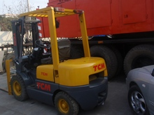 TCM FD30 3 ton forklift manual transmission used forklift 3t
