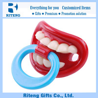 EN1400 baby silicone pacifier rings for selling