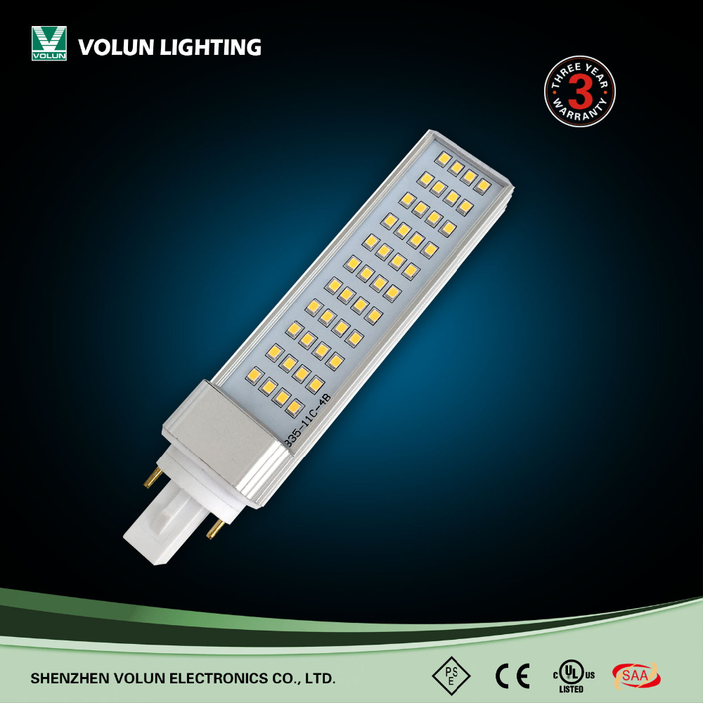 Shenzhen High quality LED 8w g24 LED PL Lighting with 2 years Warranty