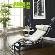 5049 new le corbusier lc4 chaise lounge