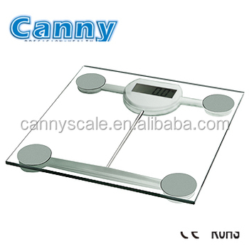 Smart scale with BMI and body weighing function