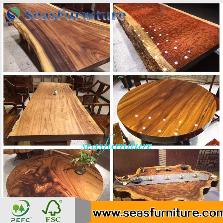 hot sale & high quality reclaimed wood top dining table With Promotional Price