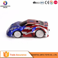 Toy wall climbing car remote control electric toy car kit rc drift car