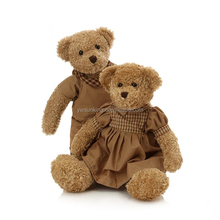 Valentine's Day gift Custom cute handwork christmas gift lovers teddy bear plush toy