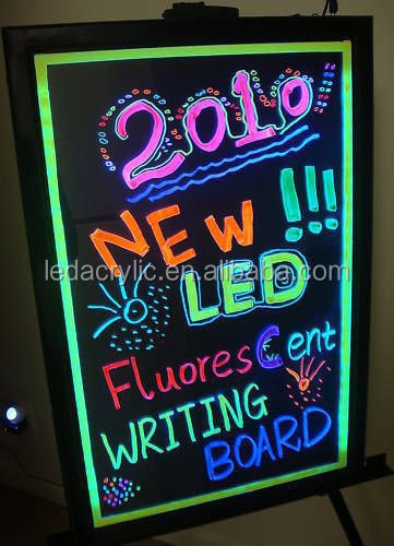 LED Menu Board Message Sign Fluorescent neon writing board