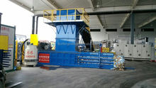 automatic baling press Cardboard, Waste Paper Baler packer compress recycling machine