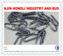 Galvanised staples china factory lowest price 40mm barbed staples