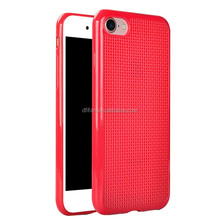 2017 New Products Phone Shell Back Cover Case for iphone7, Dot View cover for Apple iphone 7 plus DIY Cross Stitch Case