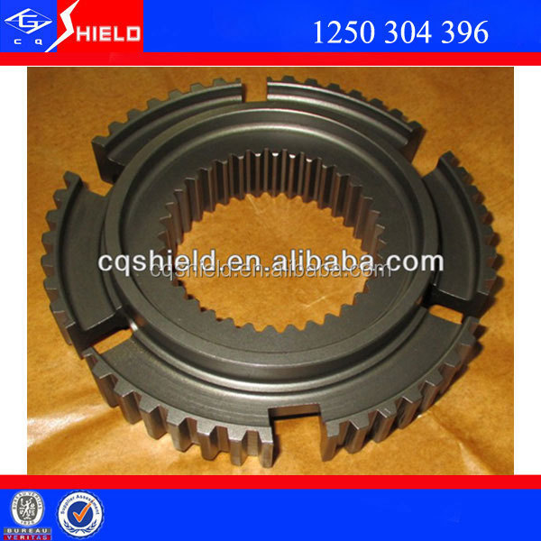 Zf S6-90 transmission gearbox THIRD AND FOURTH SPEED SYNCHRONIZER HUB (51T.) (1250304396)