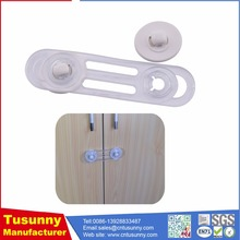 child proof plastic drawer door latches / secure cabinet locks
