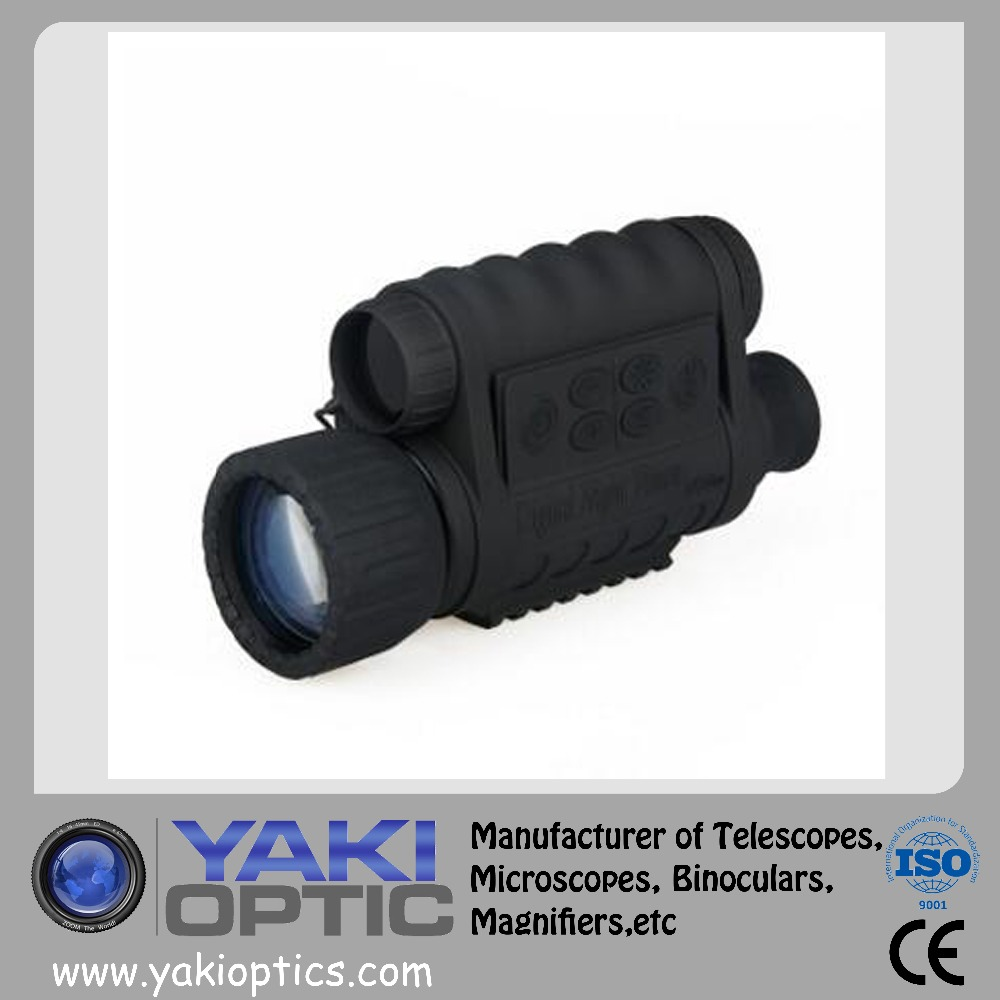 Hand-held digital night vision monocular 6X50 can shoot high-definition video night vision high-powered night vision