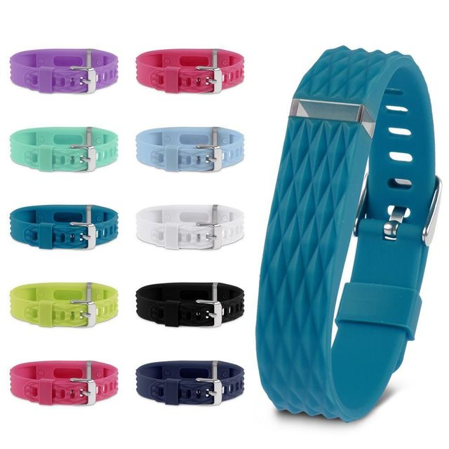 1PC 3D Replacement Wristband Band Silicone Bracelet W/CLASSIC BUCKLE For Fitbit Flex Hot