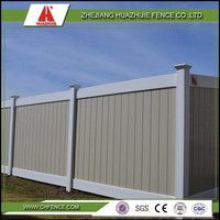pvc outdoor privacy fence