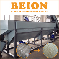 BEION factory plastic film recycling and washing machinery