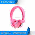 Hot new products Colorful wire 40mm headphone speaker with microphone