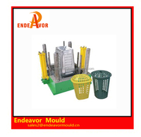 Factory directly sales quality assurance design and processing plastic injection household dustbin mould