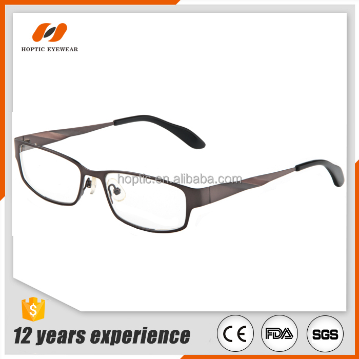 2017 wholesale custom logo eyewear for prescription lens eyeglasses titanium colorful frame